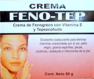 Tepezcohuite Feno-Tep Night Cream with Fenogreco and Vitamin E 60g